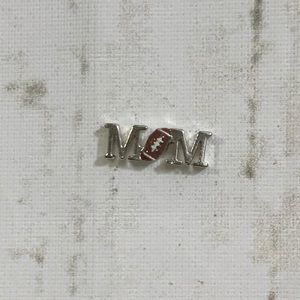 🌟5 for $15🌟 Origami Owl FOOTBALL MOM Charm